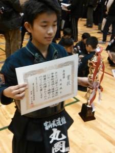 第16回庵杯争奪剣道個人優勝大会・第39回富山県少年剣道連成大会 結果
