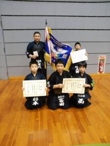 第29回 斎藤弥九郎顕彰碑建立記念少年剣道大会 結果